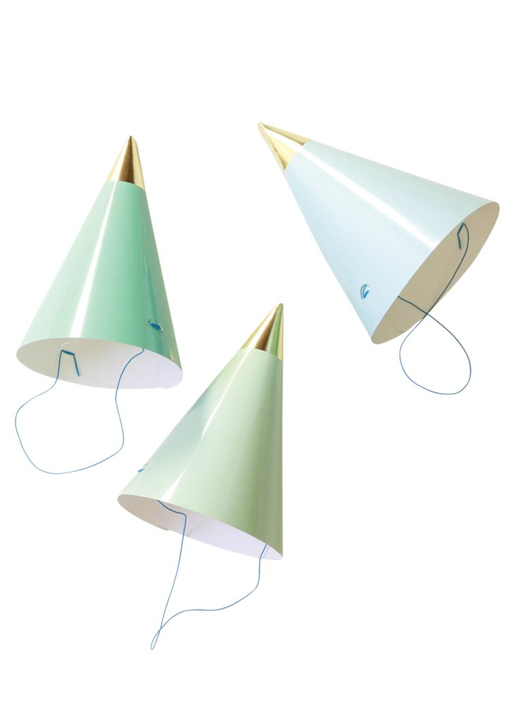 PARTY HATS - BLUE PACK - Bracket