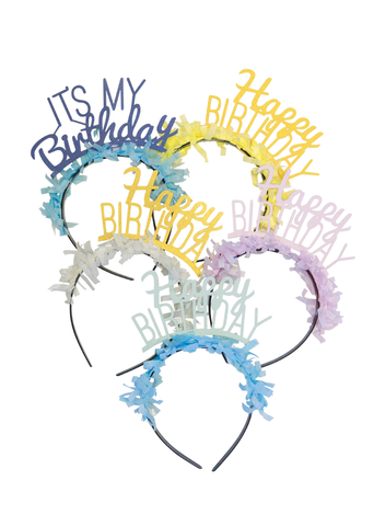CUSTOM PARTY HEADBANDS PACK
