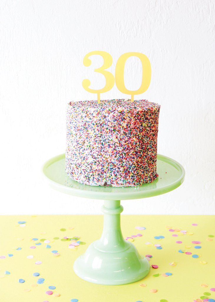 NUMBER CAKE TOPPERS - Bracket