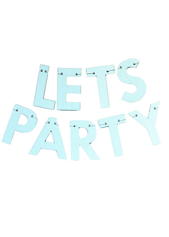 PARTY BANNER - PARTY OVER HERE