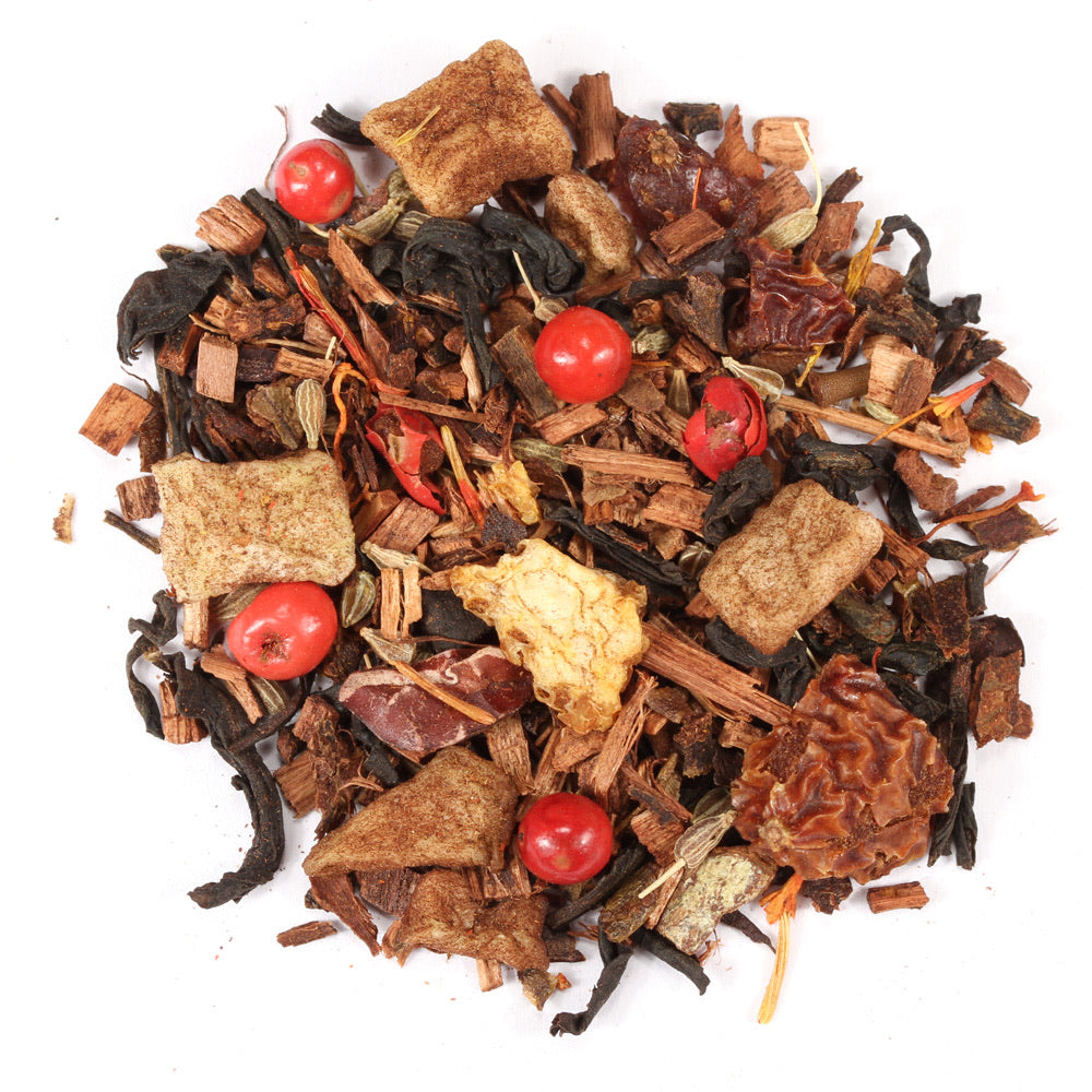 Steep Luv Skinny Bih Wellness Tea -- Help relieve bloating, improve digestion, decrease gassiness,  and soothe a bloated stomach. Spiced Flavor
