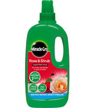 Load image into Gallery viewer, Miracle-Gro Rose & Shrub Concentrate 1L
