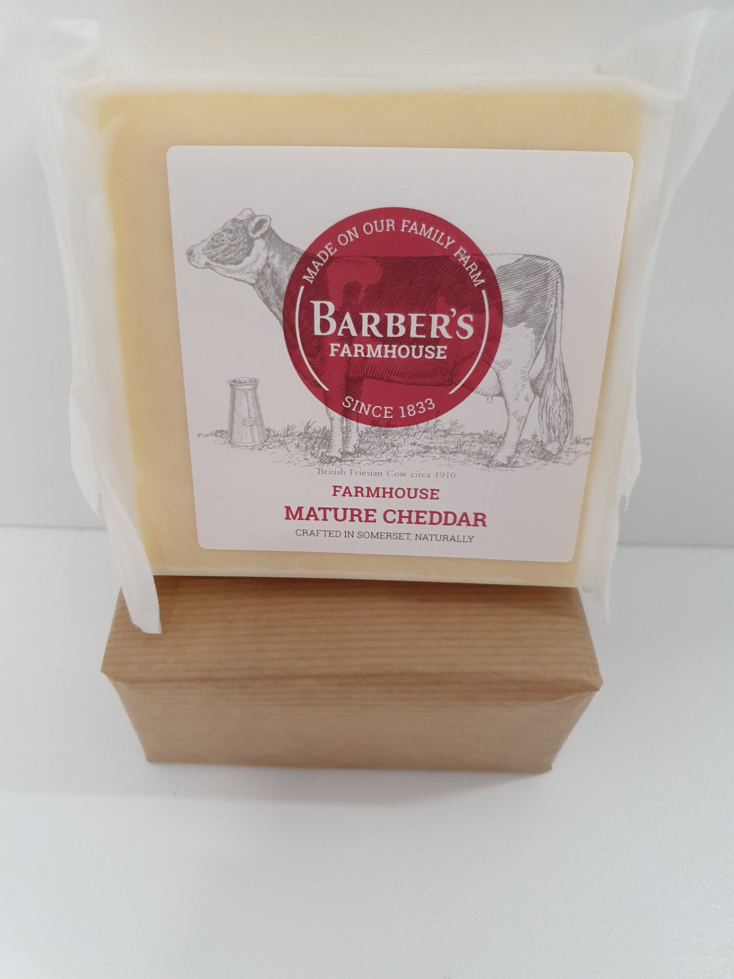 Barbers Farmhouse Mature Cheddar 200g