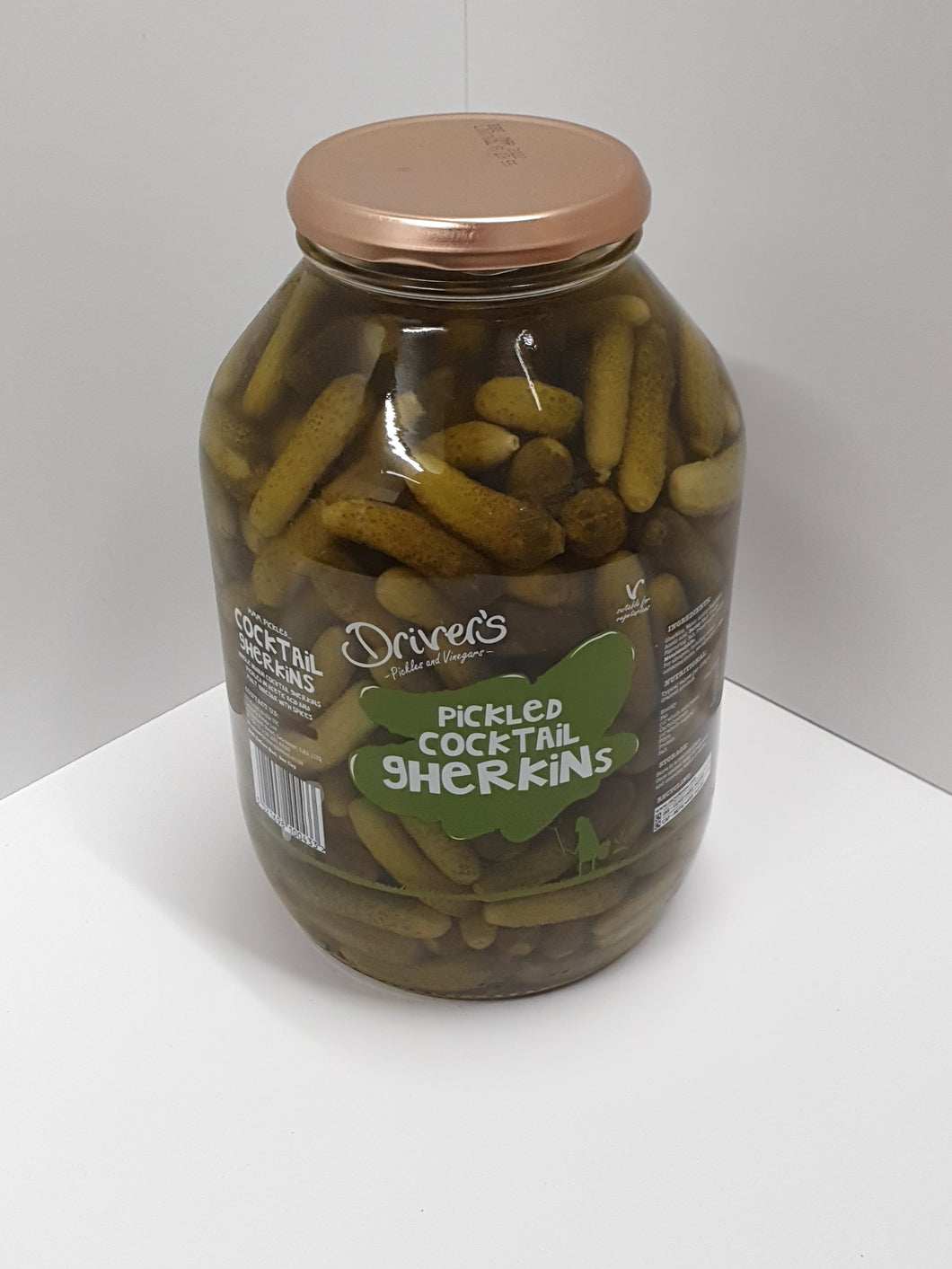 Drivers Pickled Cocktail Gherkins 2.25kg