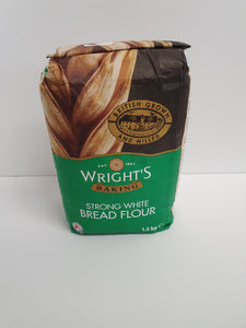 Wright's Strong White Bread Flour 1.5kg