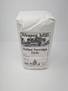 Wessex Mill Rolled Porridge Oats 1KG