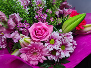 Florists Choice Bouquet - Pink