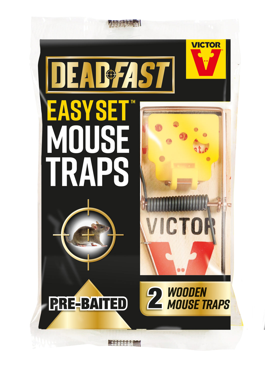 Deadfast Ready to Use Mouse Killer Station
