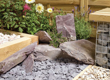 Load image into Gallery viewer, Plum Slate Rockery (Per Stone)