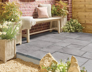 Abbey Paving Graphite 450mm x 450mm