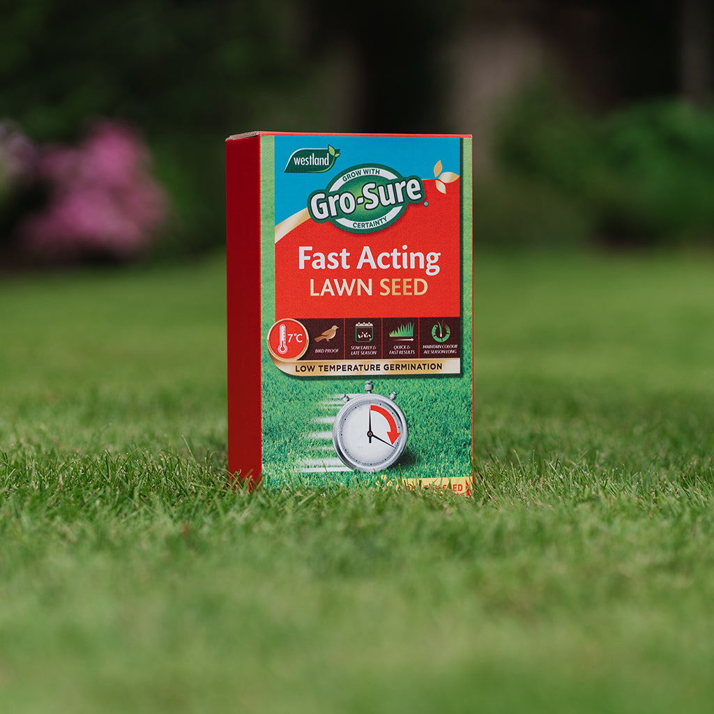 GroSure Fast Acting Lawn Seed 30m2