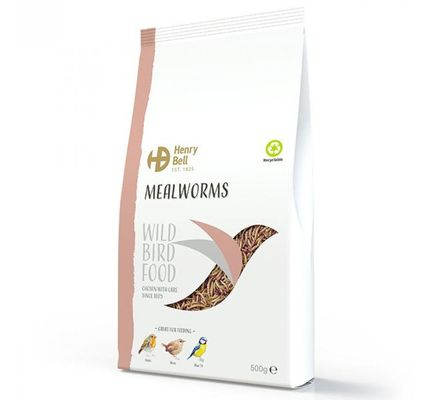 Henry Bell Meal Worms 500g
