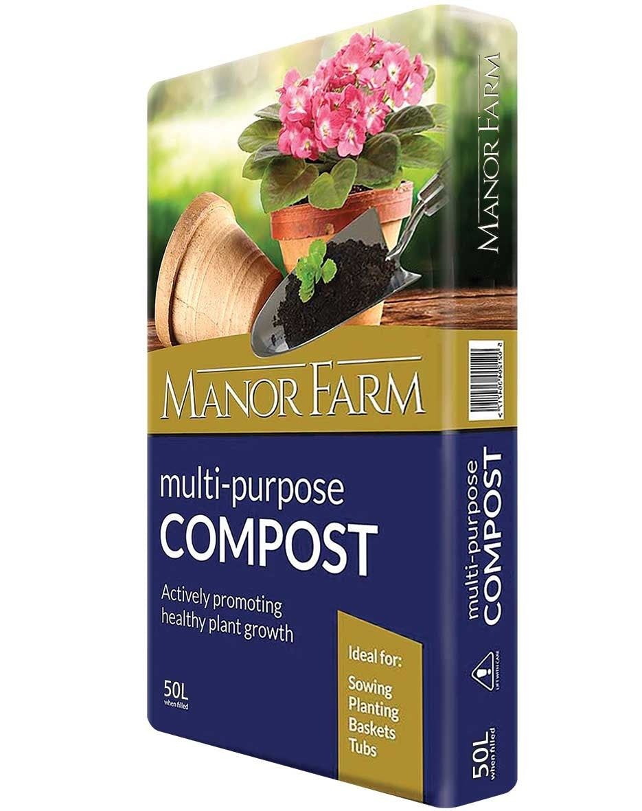 Manor Farm Multi-Purpose Compost 60L