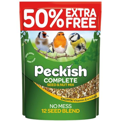 Peckish Seed & Nut Mix 3kg