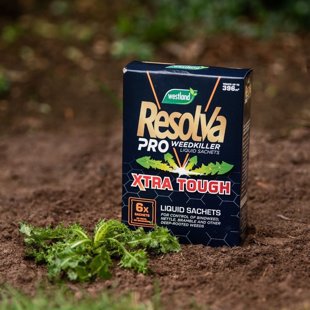 Resolva Pro Extra Tough Weedkiller 6x Sachets