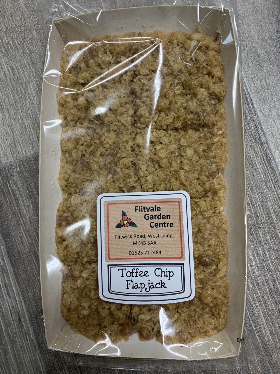 Toffee Chip Flapjack 270g