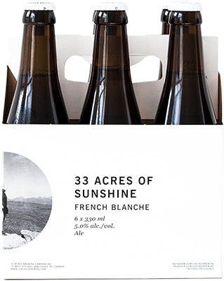 33 ACRES OF SUNSHINE BLANCHE | 6 x 330 ml