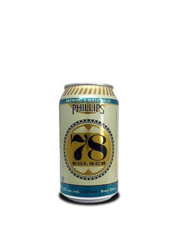 PHILLIPS BREWING - 78 KOLSCH CAN | 6 x 355 ml