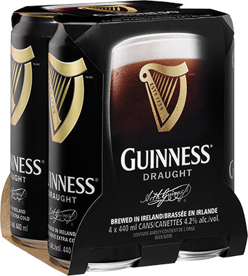 GUINNESS PUB DRAUGHT CAN | 4 x 440 ml