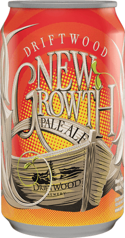 DRIFTWOOD BREWERY - NEW GROWTH PALE ALE CAN | 6 x 355 ml