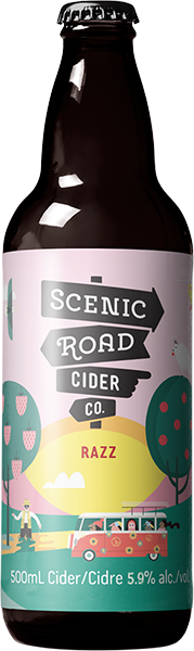 SCENIC ROAD CIDER - RAZZ | 500ml