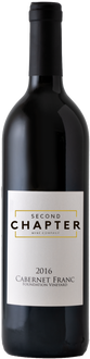 SECOND CHAPTER - CABERNET FRANC | 750 ml