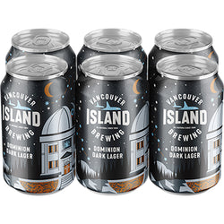 VANCOUVER ISLAND - DOMINION DARK LAGER CAN | 6 x 355 ml