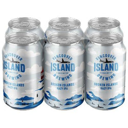VANCOUVER ISLAND - BROKEN ISLANDS HAZY IPA CAN | 6 x 355 ml