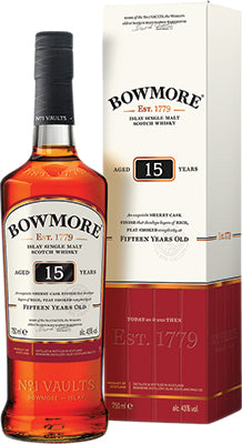 BOWMORE - 15 YEAR OLD | 750 ml