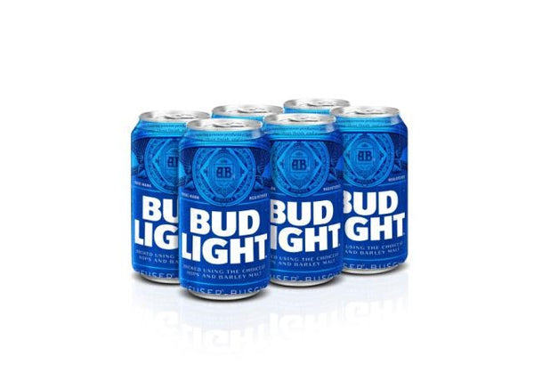 BUD LIGHT CAN | 6 x 355 ml