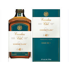 CANADIAN CLUB - 41 YEAR OLD CHRONICLES | 750 ml