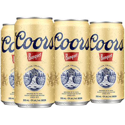 COORS BANQUET CAN | 6 x 355 ml