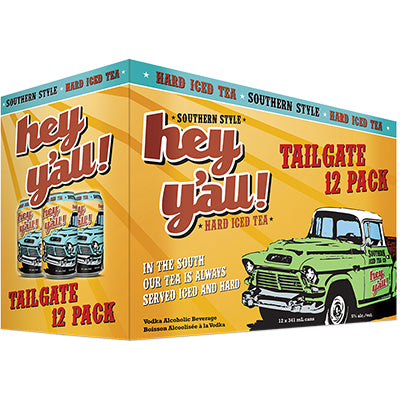 HEY Y'ALL - ORIGINAL CAN | 12 x 341 ml