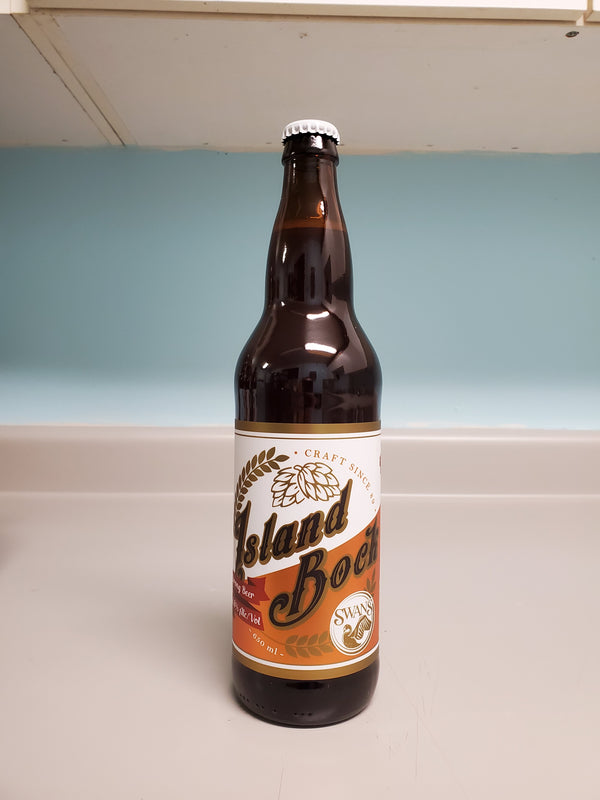 SWANS BREWERY - ISLAND BOCK LAGER | 650 ml