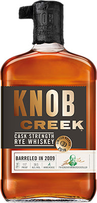 KNOB CREEK - CASK STRENGTH RELEASE 1 | 750 ml