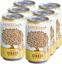 LONETREE GINGER APPLE DRY CIDER CAN | 6 x 355 ml