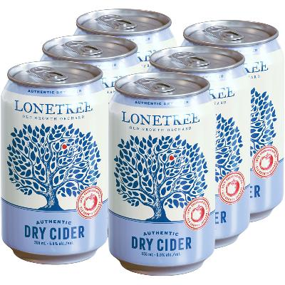 LONETREE CIDER CAN | 6 x 355 ml