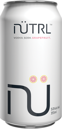 NUTRL VODKA SODA GRAPEFRUIT CAN | 6 x 355 ml