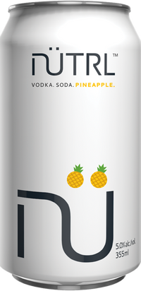 NUTRL VODKA SODA PINEAPPLE CAN | 6 x 355 ml