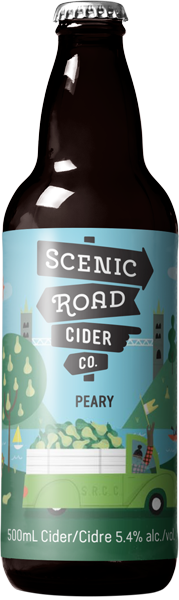 SCENIC ROAD CIDER - PEARY | 500ml