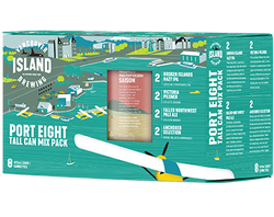 VANCOUVER ISLAND - PORT 8 TALL CAN MIX PACK | 8 x 473 ml