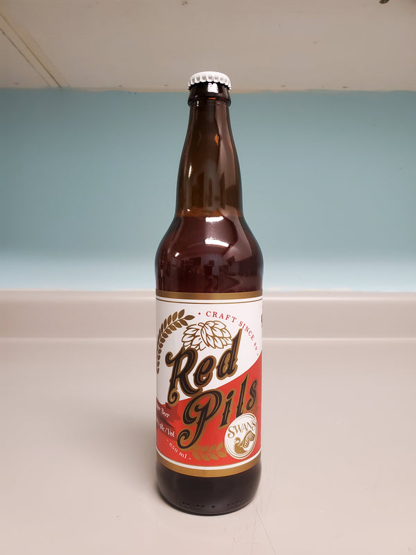SWANS BREWERY - RED PILSNER | 650 ml