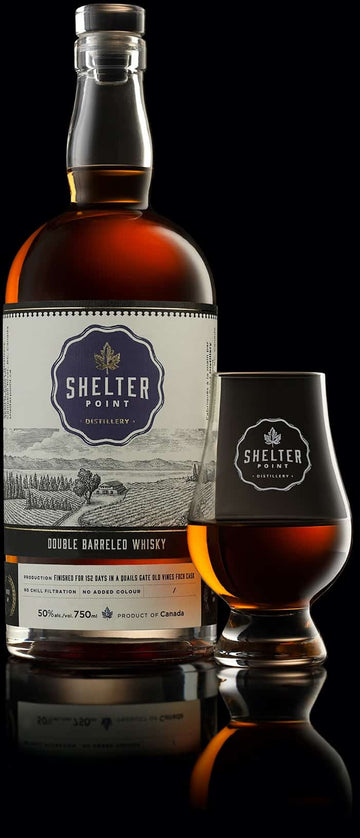SHELTER POINT - DOUBLE BARRELED WHISKY | 750 ml