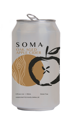 SOMA OAK AGED APPLE CIDER | 4 x 355 ml