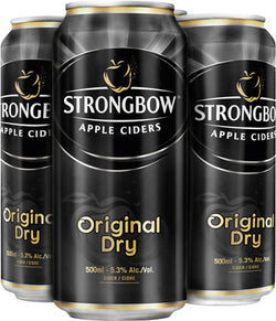 STRONGBOW - ORIGINAL DRY TALL CAN | 4 x 500 ml