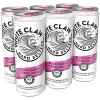 WHITE CLAW - BLACK CHERRY CAN | 6 x 355 ml