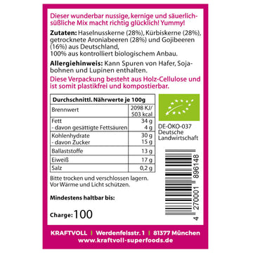 Beeren-Nuss-Mix, 80g