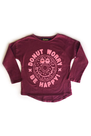 Donut Worry Long Sleeve Dolman