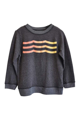 Sunset Waves Pullover