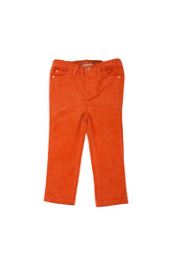 Corduroy Pants in Brick